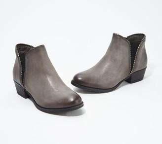 Miz Mooz Leather Ankle Boots - Barrett