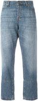 Marni cropped jeans - women - Cotton/Linen/Flax - 25