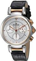 Edox Women's 10220 357RC AIR LaPassion Analog Display Swiss Quartz Black Watch