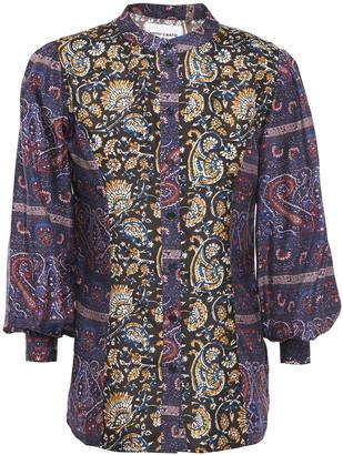 Antik Batik Keith Printed Silk Blouse
