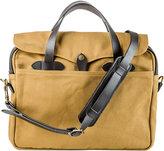 The Conran Shop Filson Original Brown Twill & Leather Briefcase