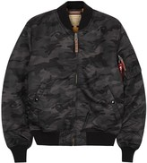 Alpha Industries Ma-1 Camouflage-print Bomber Jacket