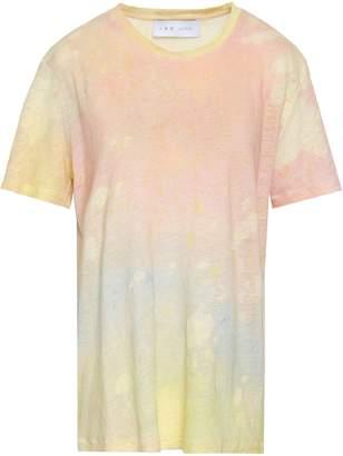 IRO Tie-dyed Slub Linen-jersey T-shirt