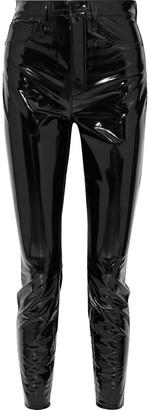 Rag & Bone Vinyl Skinny Pants