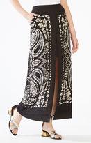 BCBGMAXAZRIA Jane Paisley Print Maxi Skirt