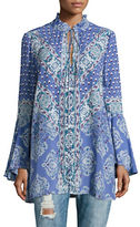 Free People Floral Peasant Tunic