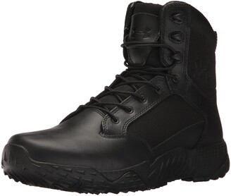 Under Armour mens Stellar Side Zip Military and Tactical Boot