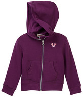 True Religion Marled French Terry Hoodie (Little Girls)