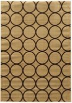 Linon Elegance Multi Circles Geometric Rug