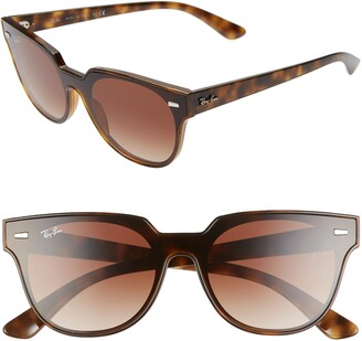 Ray-Ban Blaze Meteor 145mm Gradient Shield Sunglasses