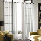 Asstd National Brand Soho Volile Grommet-Top Sheer Curtain Panel