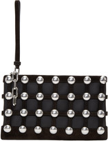 Alexander Wang Black Roxy Cage Pouch