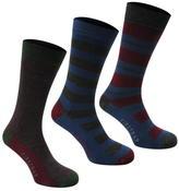 Firetrap 3 Pack Formal Socks