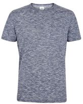 Burton Mens Navy Textured T-Shirt