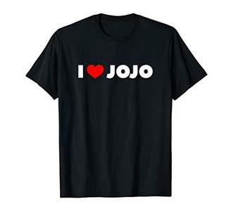 Jo-Jo I Love (Heart) Jojo T-Shirt