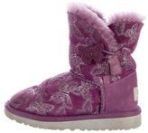 UGG Girls' Bailey Button Butterfly Boots