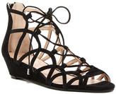 Badgley Mischka Hartley Gladiator Wedge Sandal