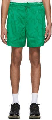 Rochambeau Green Sport Shorts
