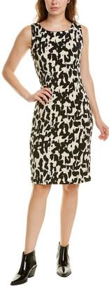 Tmrw Studio Printed Sheath Dress