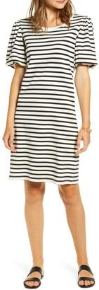 Rachel Parcell Bubble Sleeve T-Shirt Dress