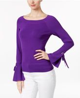 INC International Concepts Petite Bell-Sleeve Sweater, Only at Macy's
