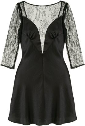 Alice McCall Black Beauty lace dress