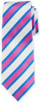 Kiton Tricolor Striped Silk Tie