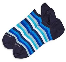 Marcoliani Milano Invis Striped Sneaker Socks