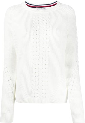 Tommy Hilfiger Organic Cotton Long-Sleeve Jumper