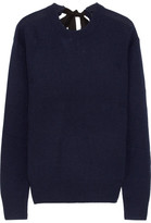 Joseph Tie-back Cashmere Sweater - Navy