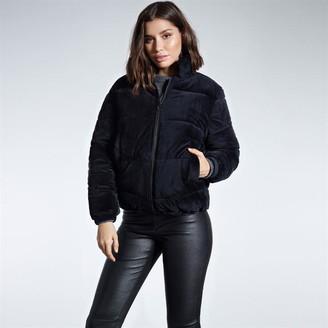 Firetrap Velvet Puffer Jacket