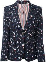 Thom Browne floral embroidery jacket - women - Wool - 42