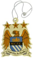 Manchester City F.C. Manchester City FC Official Football Crest Car Air Freshener