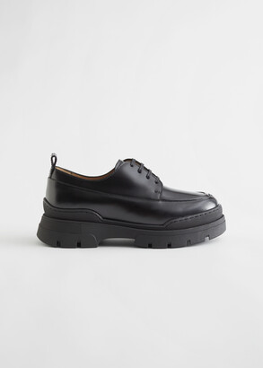 And other stories Chunky Sole Leather Oxfords