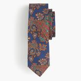 J.Crew Silk tie in paisley