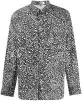 Isabel Marant paisley-print long sleeved shirt