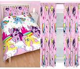 """My Little Pony Equestria Double/US Full Duvet + Matching 54"""" Curtains"""