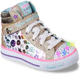 Skechers Girls Twinkle Toes Giggle Glam Toddler & Youth Light-Up Sneaker