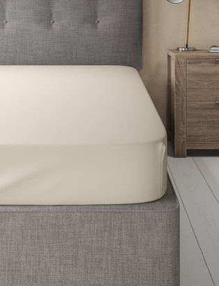 Marks and Spencer Egyptian Cotton 400 Thread Count Sateen Fitted Sheet