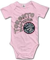 Enlove Toronto Raptors BABY Cute Short Sleeves Variety Baby Onesies Body Suits For Babies