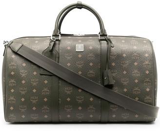 MCM Traveler monogram-print duffle bag