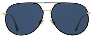 Christian Dior 60MM Aviator Sunglasses