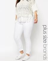 Junarose Skinny White Jean