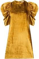Ulla Johnson Puff Sleeve Striped Dress