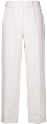 Peserico Pull-On Straight-Leg Trousers
