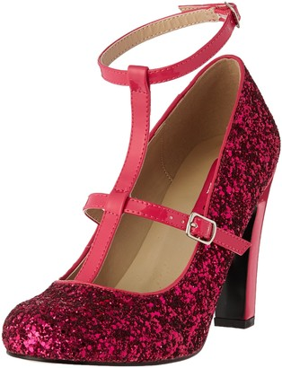 Pink Label Pleaser Women's Queen01/Hp-Hpg Dress Pump