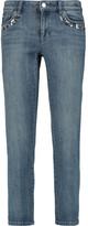 MICHAEL Michael Kors Embellished low-rise skinny jeans