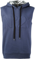 No.21 sleeveless hoodie - men - Cotton/Polyamide - XS