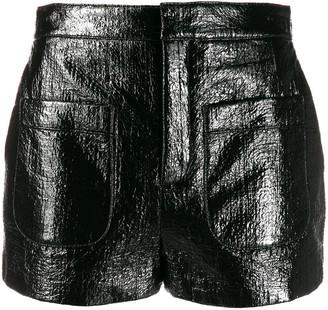 Saint Laurent Shiny Shorts