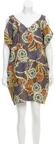 Ter Et Bantine Abstract Print Silk Dress